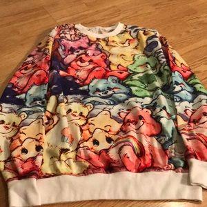 Other - Care Bears colorful rainbow Retro Sweatshirt